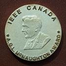 Medal for A.G.L. McNaughton Award